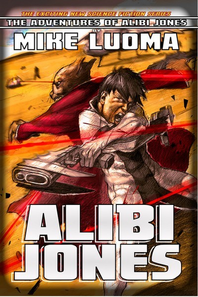 Alibi Jones - New Cover!